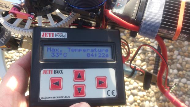 Alien 600 Telemetrie Logfile Jeti Master Mezon Jeti Box