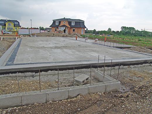10 Tage nach Baubeginn