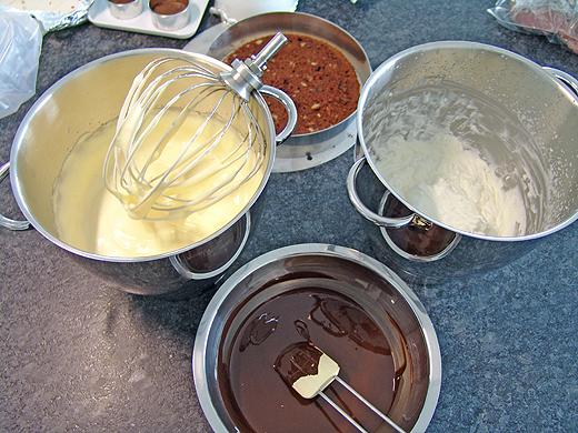 vanillemousse aus pudding