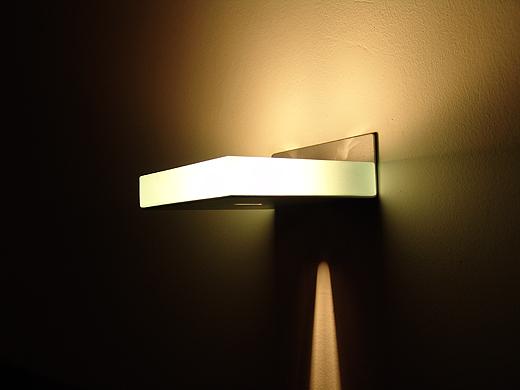 Wandlampe HARI im WhiteCube Architektenhaus